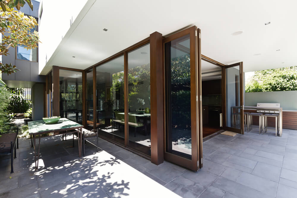 Benefits of bi fold and lift and slide patio door designs for Patio door designs
