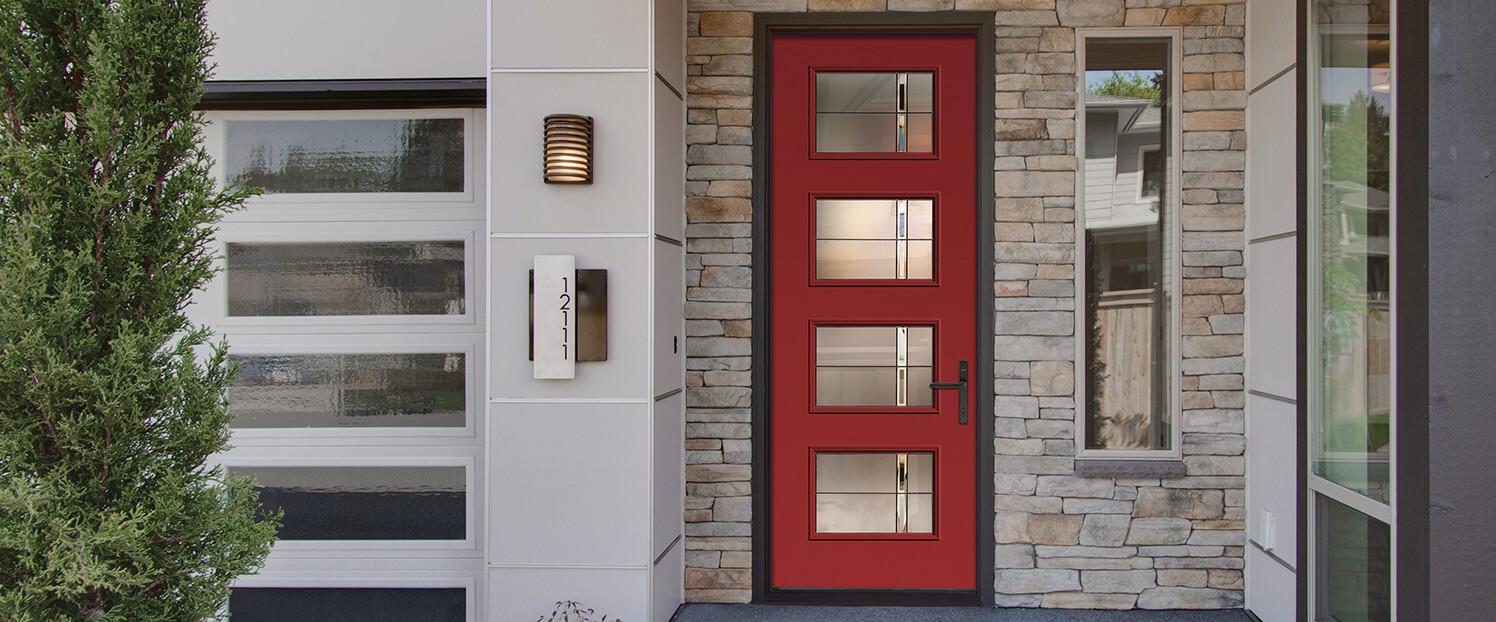 Replacement exterior doors and wood entrance doors in Kitchener