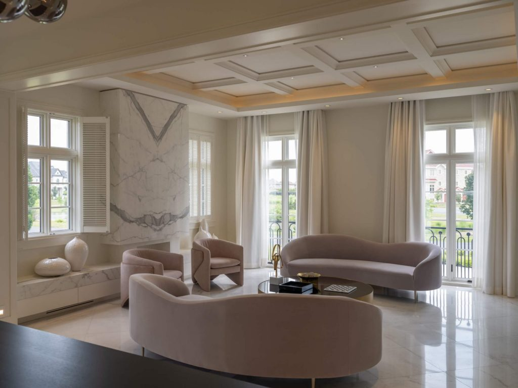 Lepage brand windows in a gorgeous living room