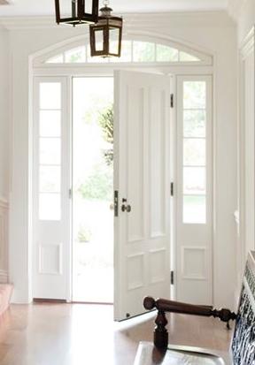 White Lepage Millwork door