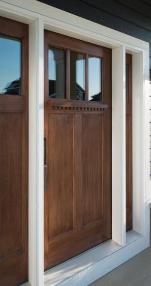 Ostaco shaker style front door