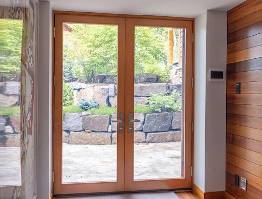 Lepage wooden patio windows